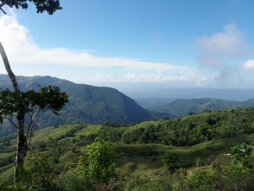 Selva deforestada al sur de Costa Rica